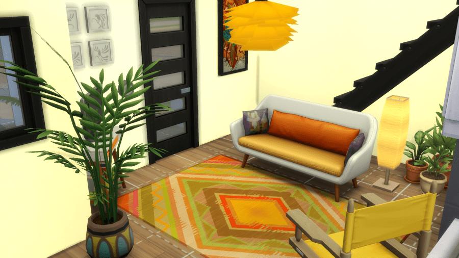 Студия современного художника для The Sims 4