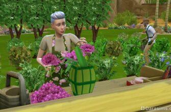 "Черта характера ""Талантливый содовод"" для The Sims 4"