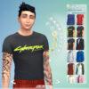 Одежда в стиле CyberPunk для The Sims 4