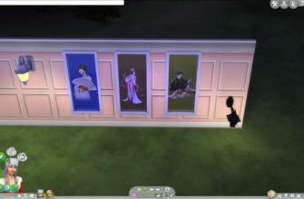 Азиатские окна The Sims 4