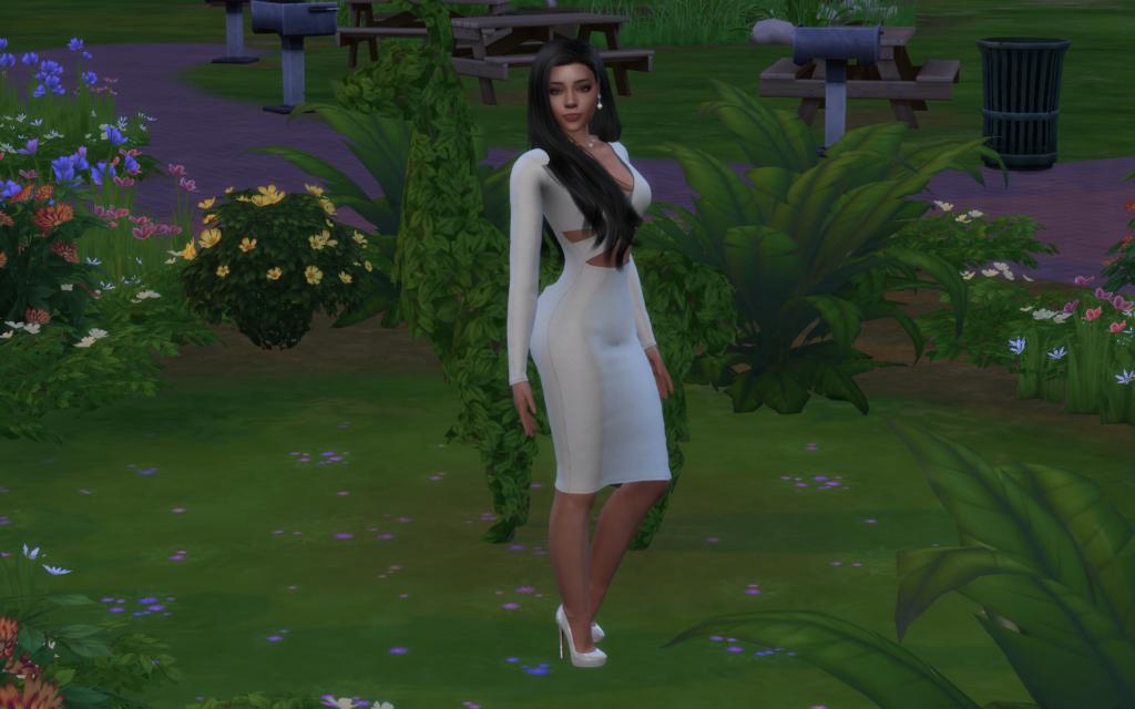 Симка Миа Джеймс для The Sims 4