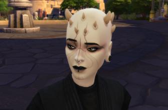 Пришельцы Батуу для The Sims 4
