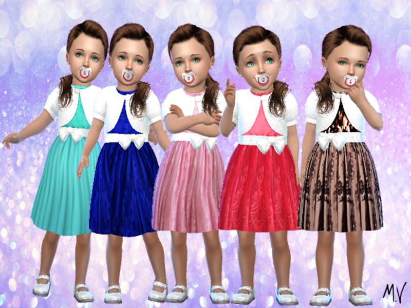 Детское платье для The Sims 4