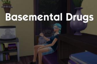 Basemental Drugs мод на наркотики для The Sims 4