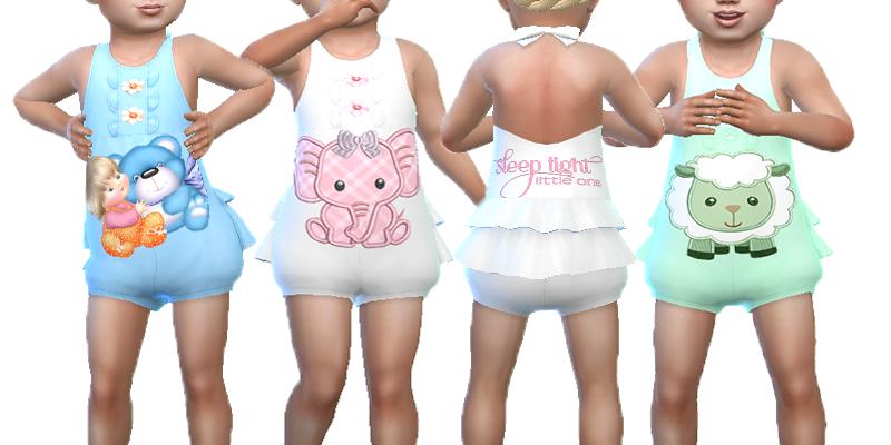 Bedtime Baby (вещи для малышей) для The Sims 4