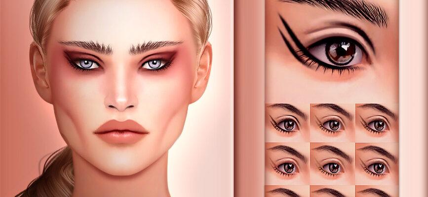 Косметическая подводка для глаз The Sims 4