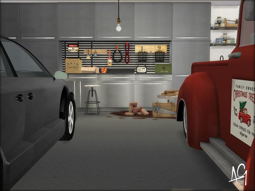 Семейный гараж для The Sims 4