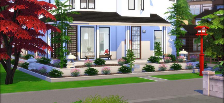 Дом Дзен для The Sims 4