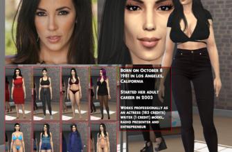 Jelena Jensen для The Sims 4