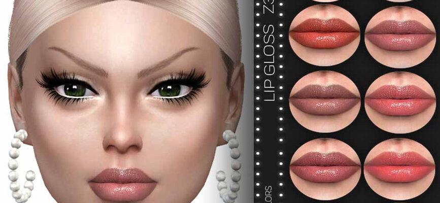 Блеск для губ Z35 The Sims 4