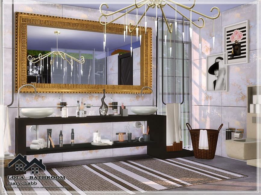 Ванная комната Lolla для The SIms 4