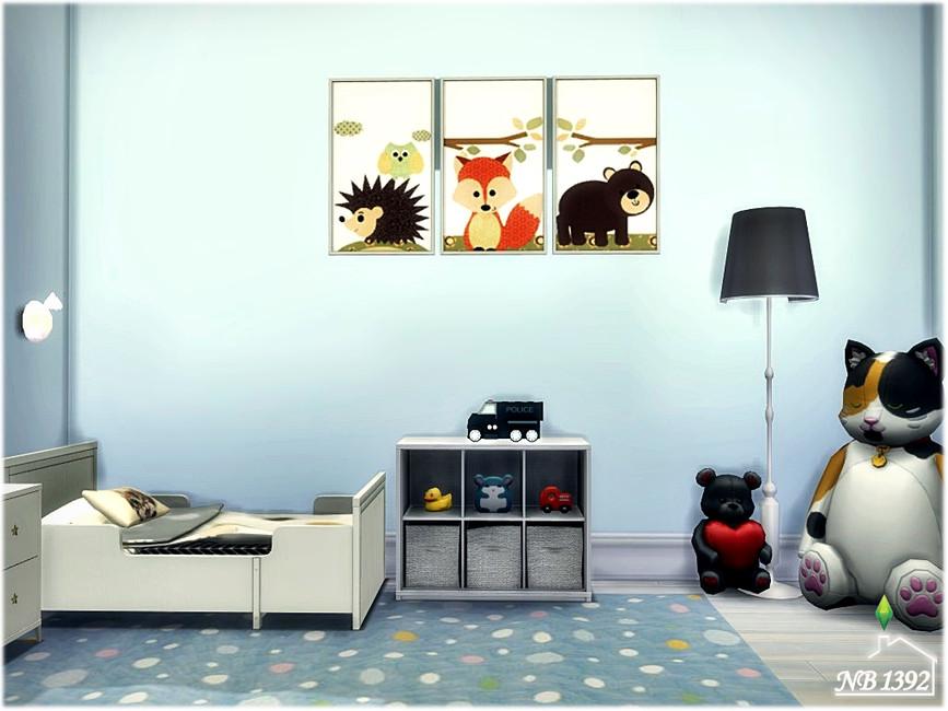 Moderato - Комната для малышей The SIms 4