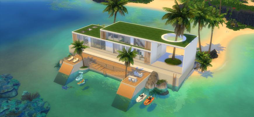 Тропикалия для The Sims 4