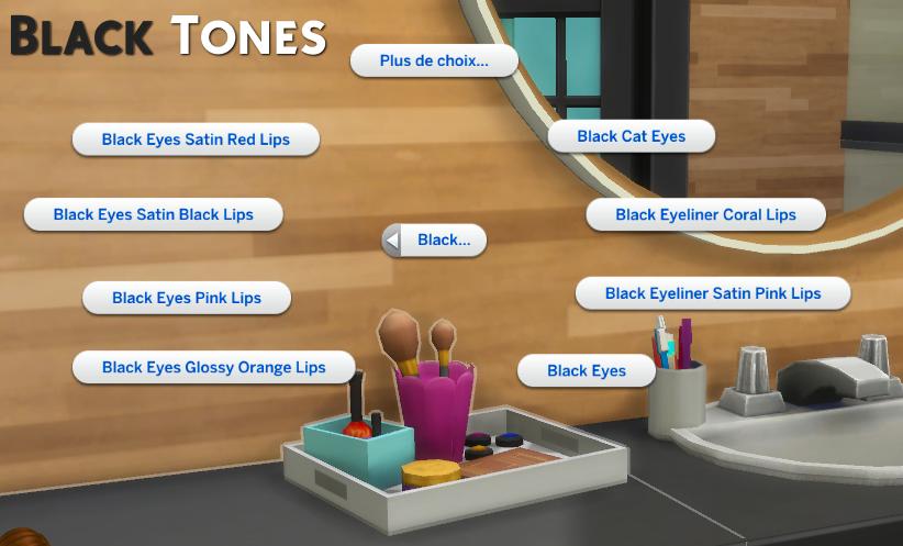 Instant Makeup Mod для The Sims 4