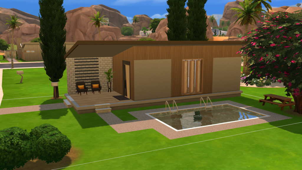 Крошечный домик для The Sims 4