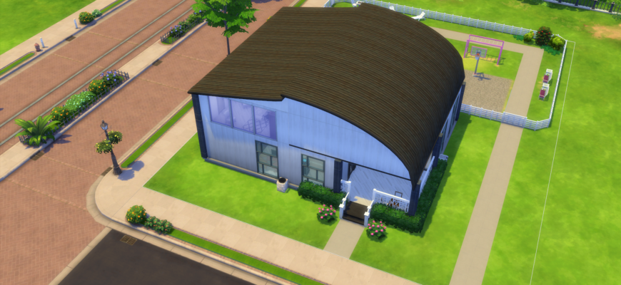 Pink Cafe для The Sims 4