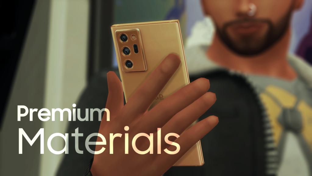 Мобильный телефон H&B Star5G для The Sims 4
