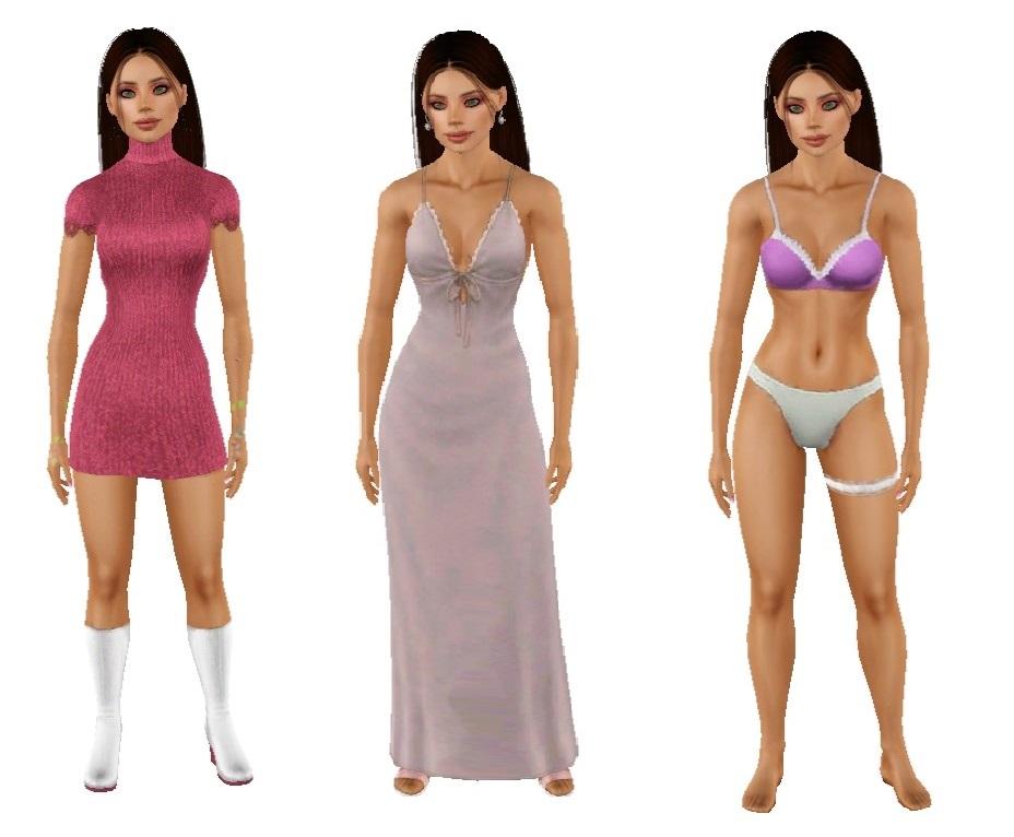 Сим Фелисити Уэллс для The Sims 4