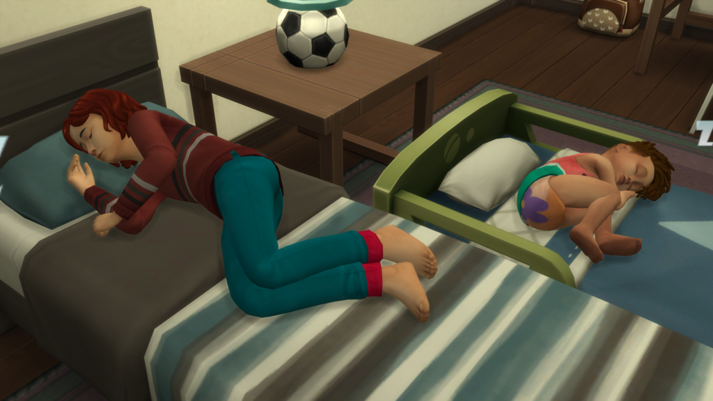 Сон без обуви для The Sims 4