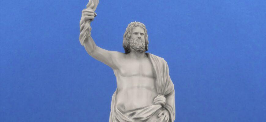 Статуя Зевса