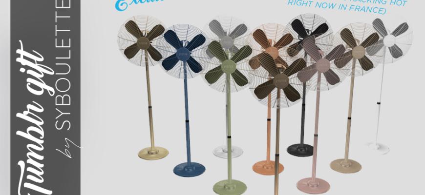 Функциональный вентилятор для The Sims 4