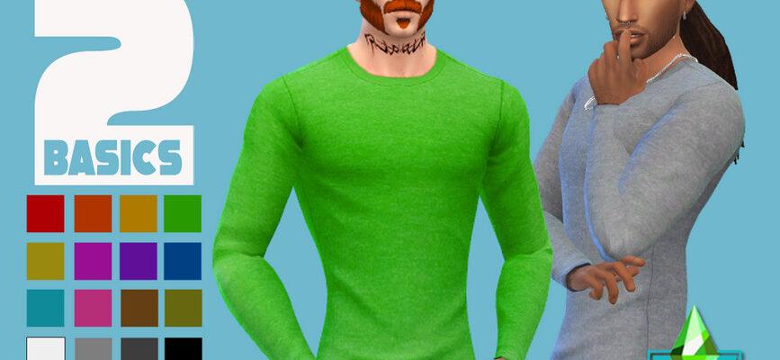 Спортивный свитшот для The Sims 4