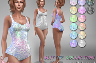 Купальник Rebecca 1 для The Sims 4