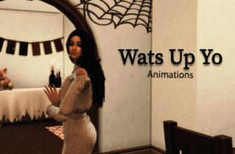 Анимации приветствия для The Sims 4
