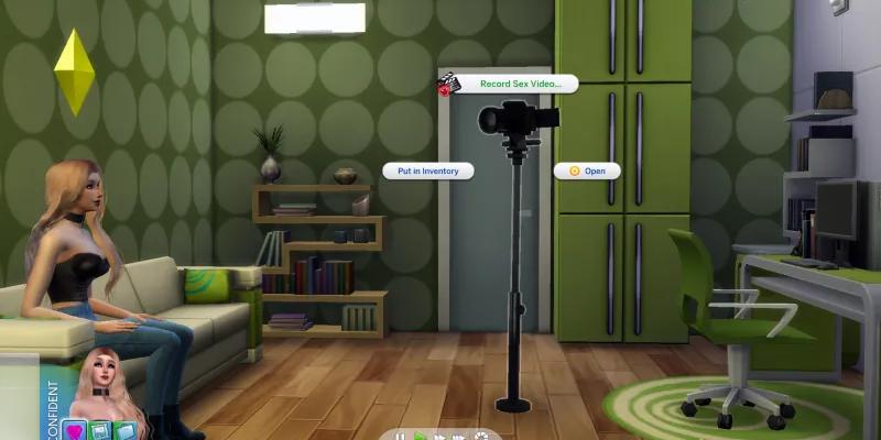 Карьера пopнозвезды v4.6.3 для The Sims 4