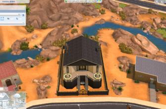 Скачать Роскошный особняк для Симс 4