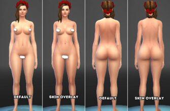 Реалистичное тело для Симс 4